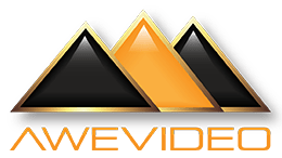 Awe Video Giza gemstone logo